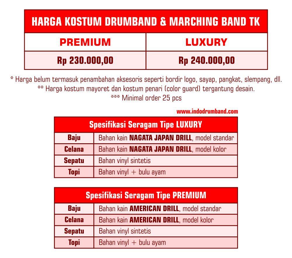 Harga ID Seragam TK 2019