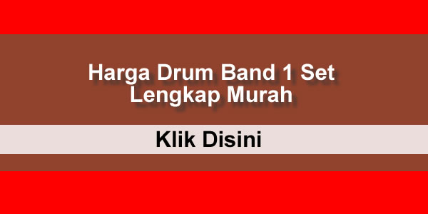 harga drum band 1 set