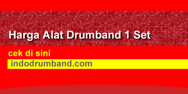 harga alat drumband 1 set