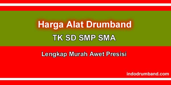 harga alat drumband TK SD SMP SMA