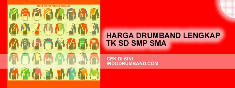 harga seragam drumband - lengkap tk sd smp sma